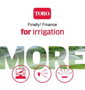 Finally Finance for Irrigation