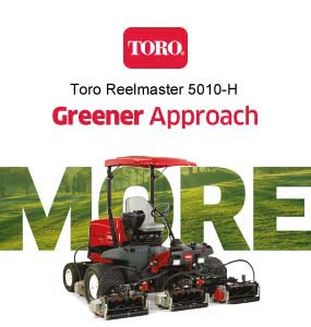 Toro Reelmaster 5010-H with PowerMatch