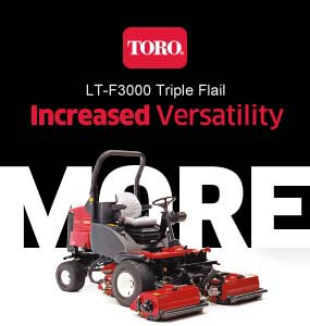 LT-F3000 triple flail mower