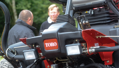 Toro Machine close up