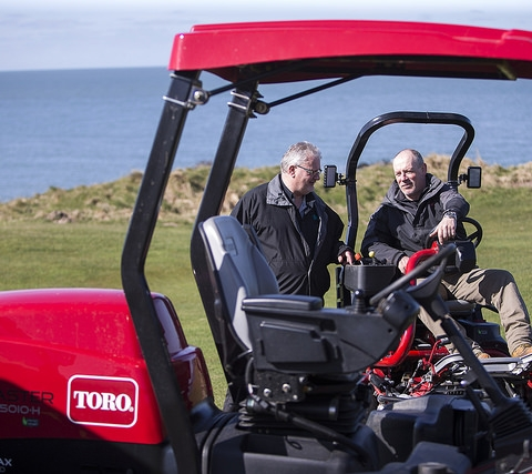 Toro machinery at Nefyn Golf Club