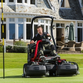 latest Toro machinery delivery arrives at the Blairgowrie Golf Club